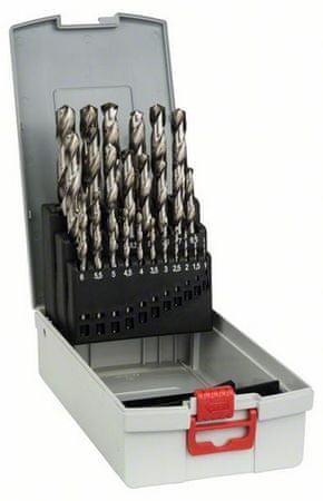 Bosch set svedrov za kovino Pro Box HSS-G, 1-13mm (2608587017)