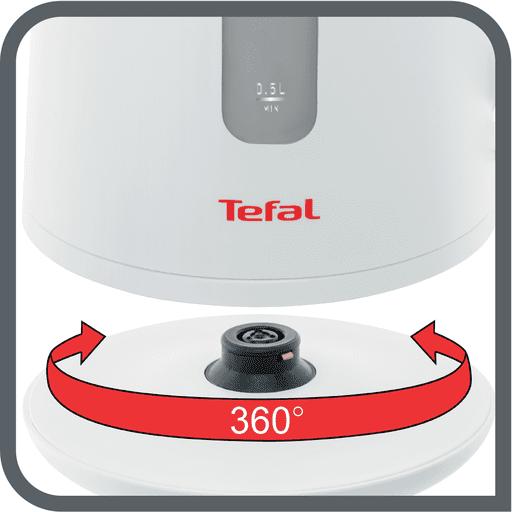 Rychlovarná konvice Tefal KI280D30 Element otočná základna 360°