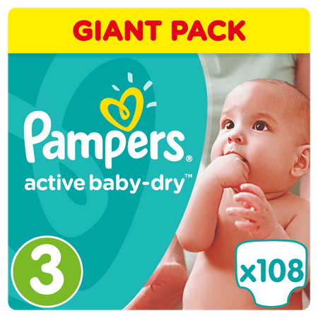 Pampers Active Baby 3 Midi 4 9kg Giant Box 108ks Mall Sk