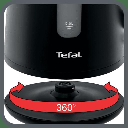 Rychlovarná konvice Tefal KO200830 Element otočná základna 360°