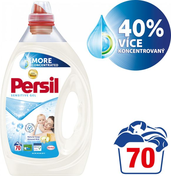 Persil Sensitive gel 3,5 l (70 praní)