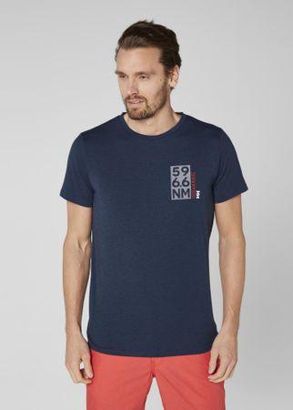 Helly Hansen HP Shore T-Shirt Navy Melange M
