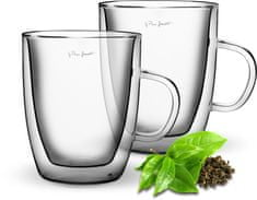 Lamart Zestaw szklanek termo TEA 420 ml, 2 szt.