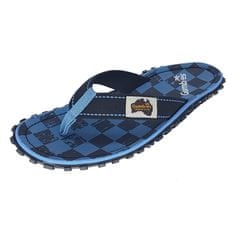 GUMBIES Blue Checker