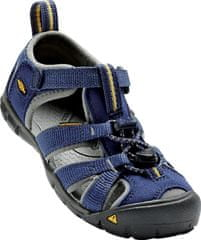 KEEN otroški sandali Seacamp II CNX, blue depths/gargoyle