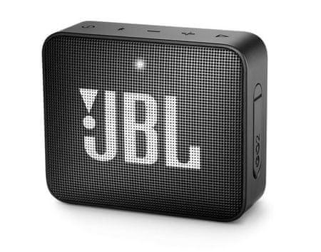 JBL zvočnik Go 2, črn