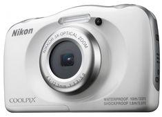 Nikon digitalni fotoaparat Coolpix W100, bel+ SD16GB + nahrbtnik