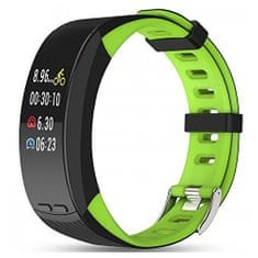 Deveroux P5 fitness náramek - zelený
