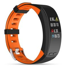 Deveroux P5 fitness náramek - oranžový