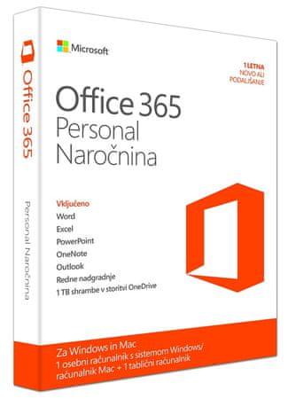 Microsoft Office 365 Personal SLO 1 letna licenca