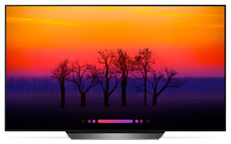 LG OLED55B8PLA televízió
