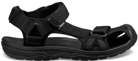 Teva moški sandali Hurricane Toe Pro 2 Black, črni, 43