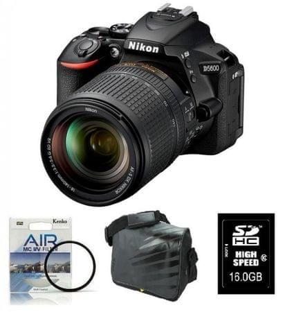 Nikon D5600 + 18-140VR + Fatbox + filter