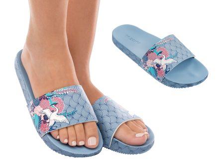 Zaxy női papucs Snap Trendy Slide 41/42 világos kék