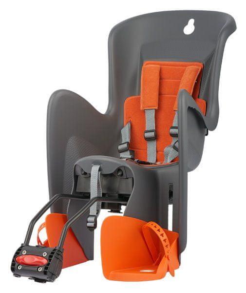 Polisport Bilby RS šedo/oranžová