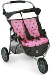 Bayer Chic voziček za dve lutki, 83