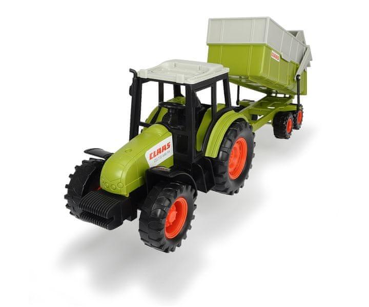 Dickie Traktor CLAAS s přívěsem 36 cm