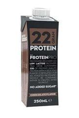 ProteinPro beljakovinski napitek, čokolada, 250 ml, 16 kosov