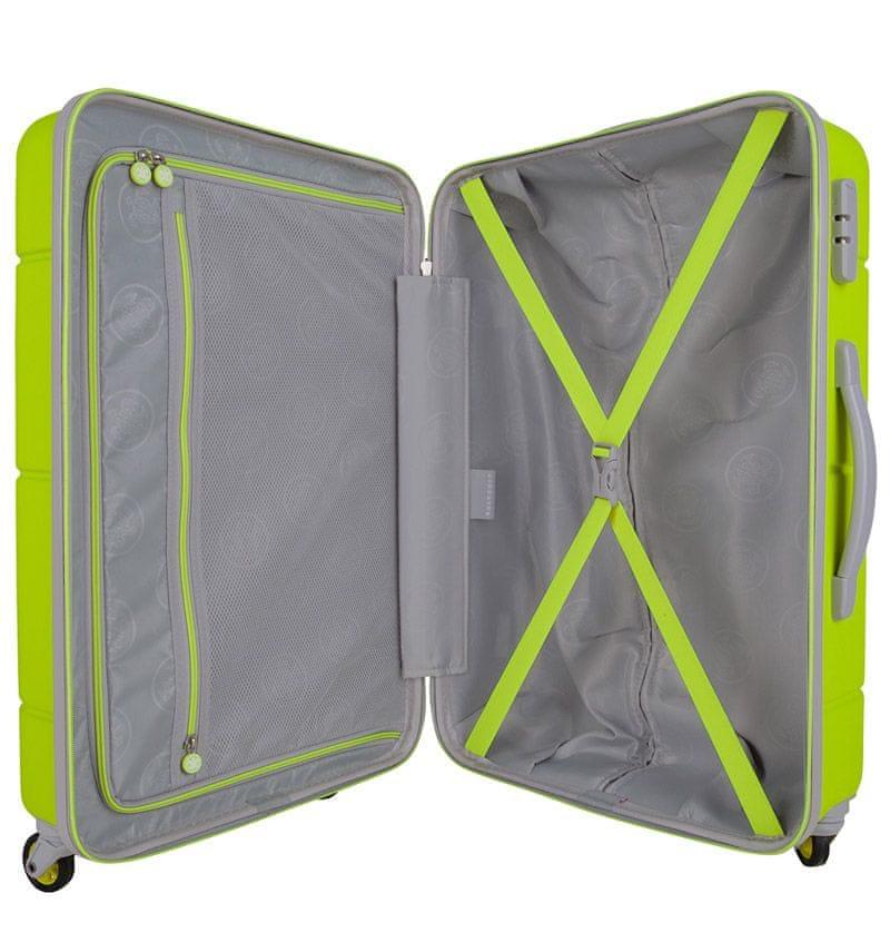 SuitSuit Sada cestovních kufrů Caretta Sparkling Yellow
