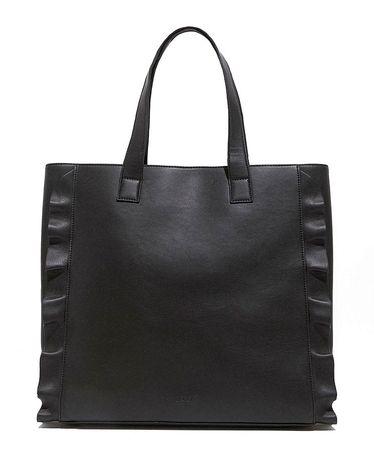 Nalí ženska ročna torbica črna