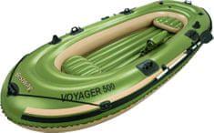 Bestway napihljiv čoln Voyager, 3,48m x 1,41m x 51cm - odprta embalaža