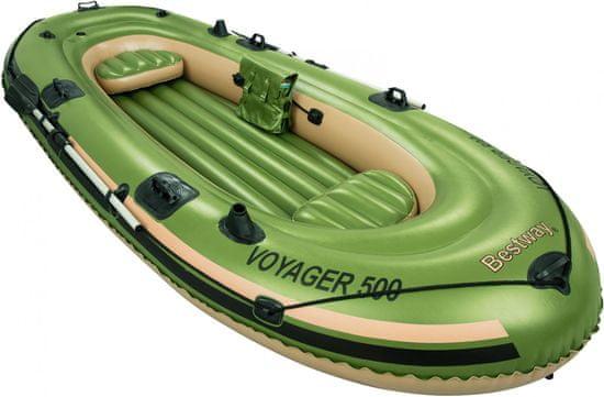 Bestway napihljiv čoln Voyager, 3,48m x 1,41m x 51cm