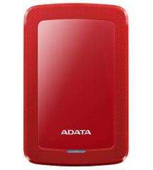 Adata Pevný disk HV300 2TB červený (AHV300-2TU31-CRD)