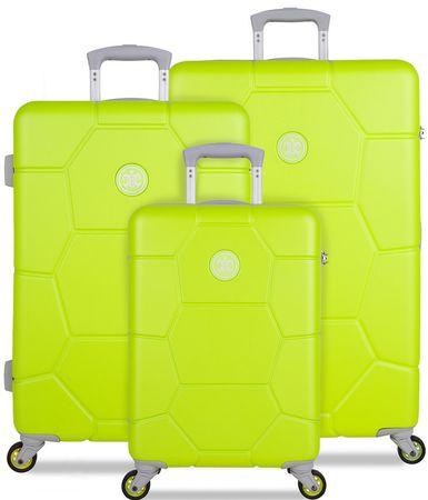SuitSuit komplet potovalnih kovčkov Caretta Sparkling Yellow, rumeni