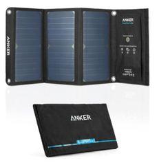 Anker anker-prenosni solarni polnilnik PowerPort, 2x USB, 21 W - odprta embalaža