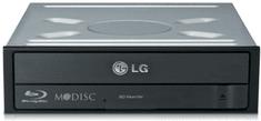 LG vgradni blu-ray zapisovalnik Blu-ray BH16NS55, črna