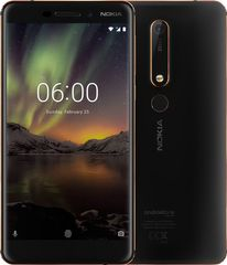 Nokia GSM telefon 6.1 Single SIM, 3GB/32GB, Black/Copper