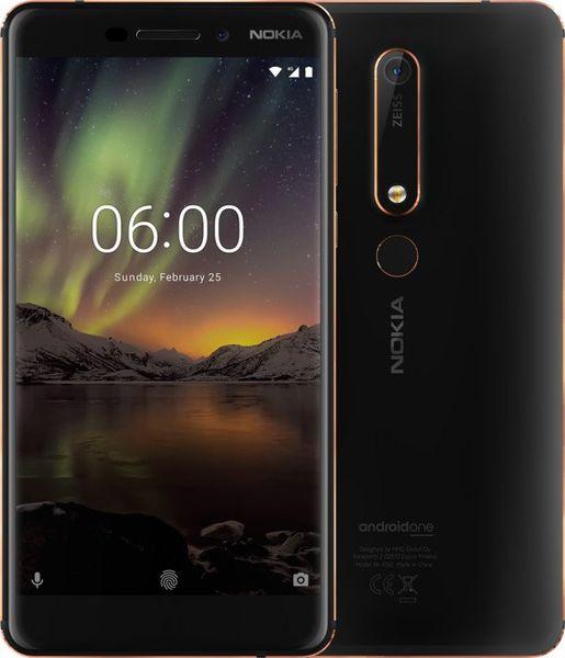 Nokia 6.1 Single SIM, 3GB/32GB, Black/Copper