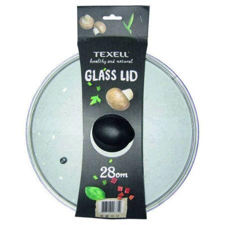 Texell steklen pokrov, 28 cm