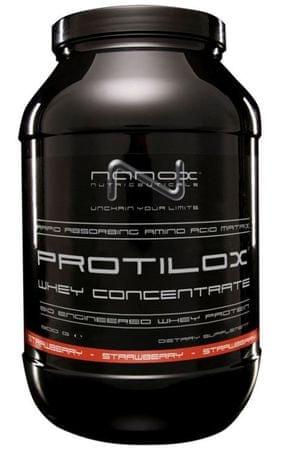 Nanox sirotkine beljakovine Protilox, jagoda, 900 g