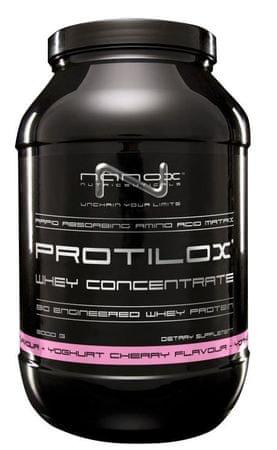 Nanox sirotkine beljakovine Protilox, jogurt/češnja, 900 g