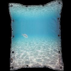 MeroWings Sedací vak s potiskem Ocean, 180x140 cm