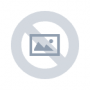 12 -  Skladací taburet,  siva látka/biely vzor, FARGO