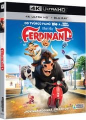Ferdinand (2 disky) - Blu-ray + 4K ULTRA HD