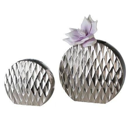 Papillon Váza hliníková Diamond, 32 cm