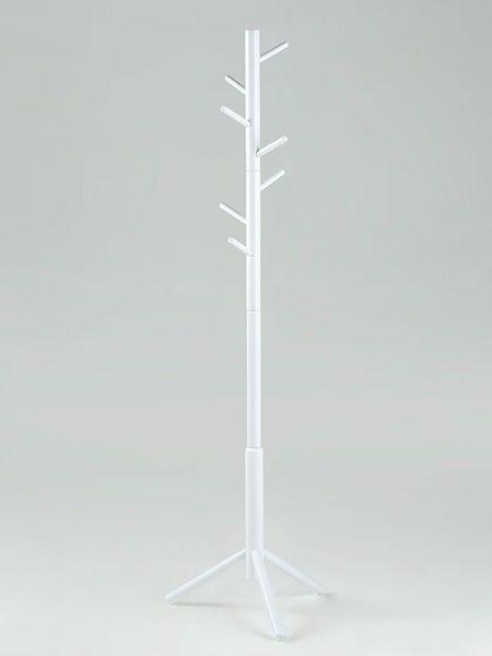Design Scandinavia Věšák dřevěný Hamburg bílá
