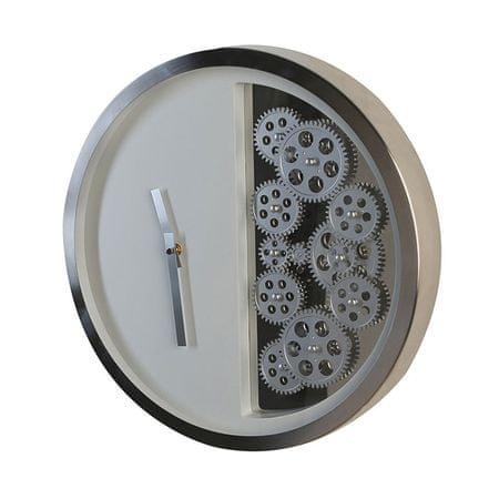 Papillon Nástěnné hodiny nerezové Cogs, 39 cm