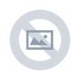 7 -  Skladací taburet,  siva látka/biely vzor, FARGO