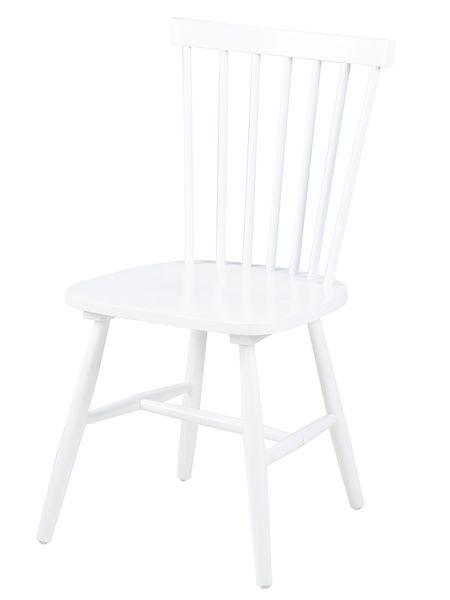 Design Scandinavia Jídelní židle dřevěná Rino (SET 2 ks) bílá