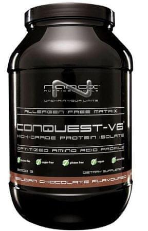 Nanox veganske beljakovine Conquest V6, čokolada, 2000 g