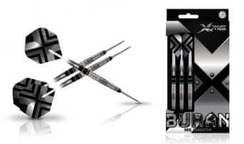 XQMax Darts Šípky Steel Buran - 21g