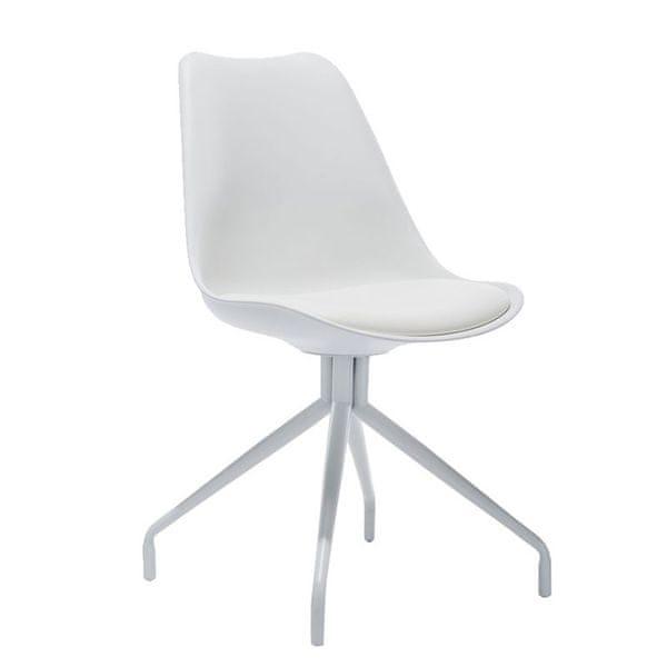 BHM Germany Konferenční / jídelní židle Hella, bílá