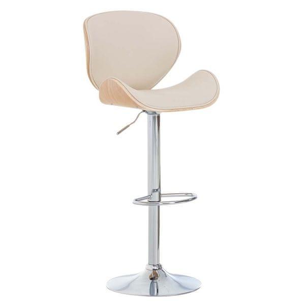 BHM Germany Barová židle Edward, krémová