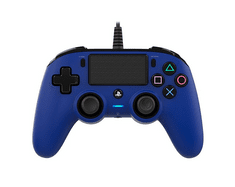 Nacon Wired Compact Controller / PS4, modrý (ps4hwnaconwccblue)