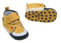 G-mini Chlapecké capáčky-tenisky žlutá
