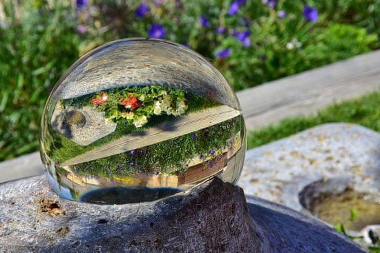 GGS Larmor krištáľová guľa pre kreatívne fotenie 60 mm